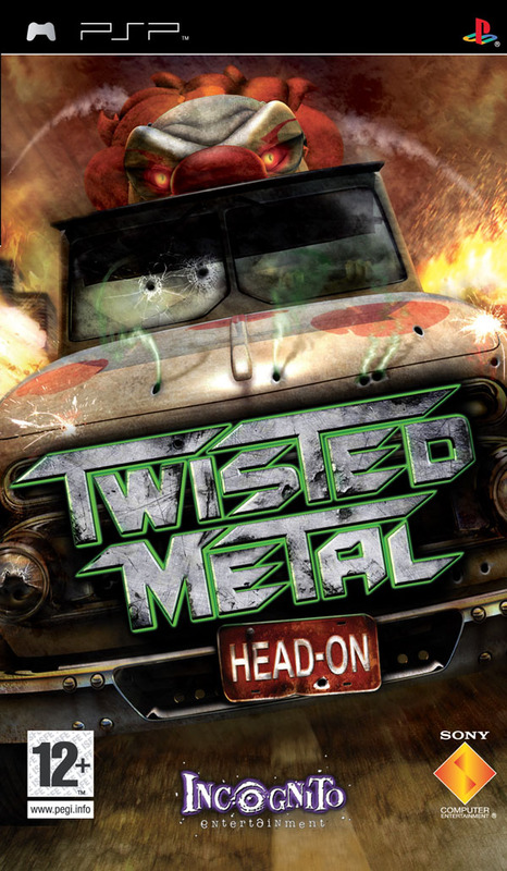 Twisted Metal: Head On for PSP