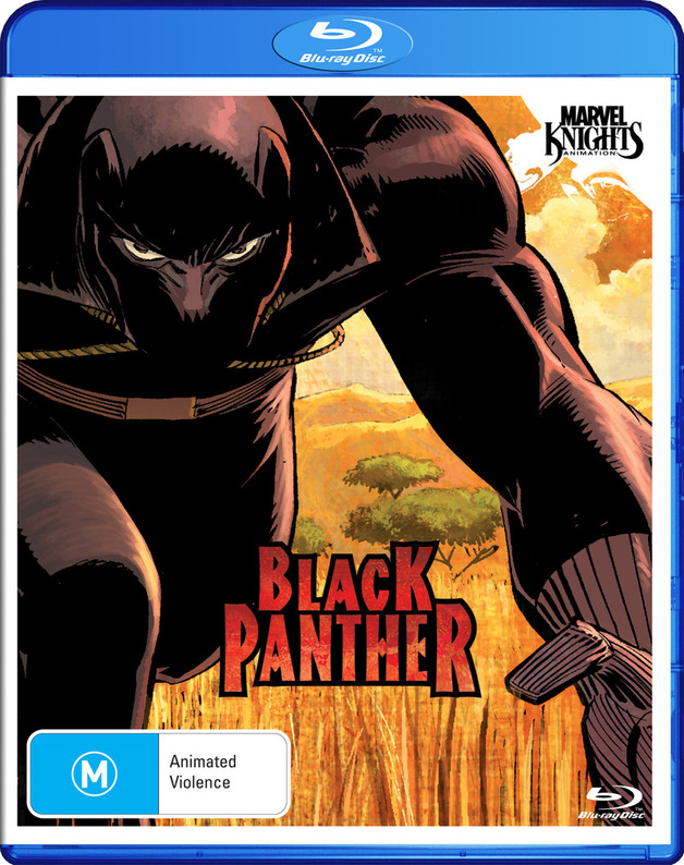 Marvel Knights - Black Panther on Blu-ray