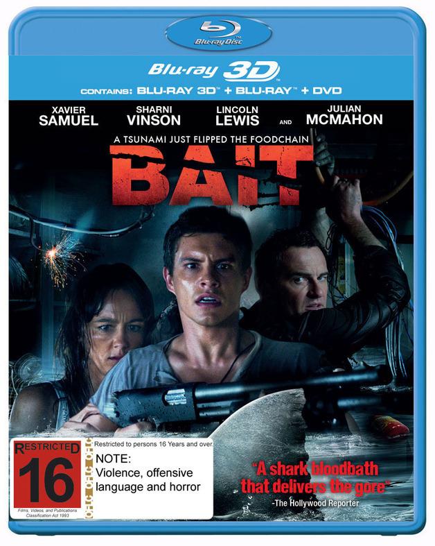 Bait on Blu-ray, 3D Blu-ray