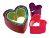 Heart Shaped Cookie Cutter - Set of 5