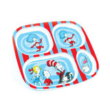 Dr. Seuss Cat in the Hat Divided Plate