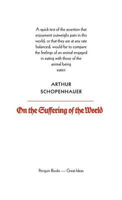 On the Suffering of the World by Arthur Schopenhauer image