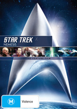 Star Trek X - Nemesis on DVD image