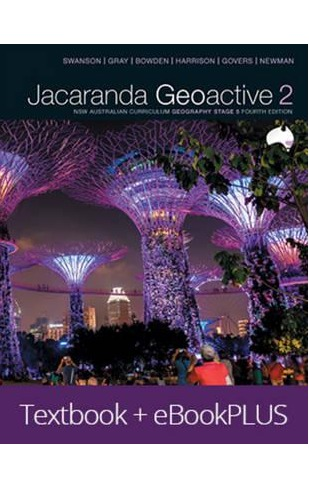 Jacaranda Geoactive 2 NSW Australian Curriculum Geography Stage 5 Fourth Edition eBookPLUS & Print by S Caldis image