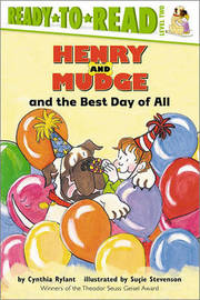Henry and Mudge and the Best Day of All by Cynthia Rylant image