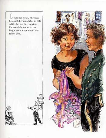 Ella's Big Chance by Shirley Hughes image