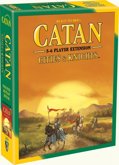 Catan – Cities & Knights 5-6 Player Extension 5th Edition image