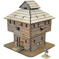 Log Timber Block House