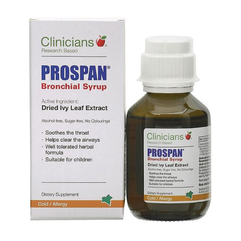 Clinicians Prospan Bronchial Syrup (100ml Bottle) image