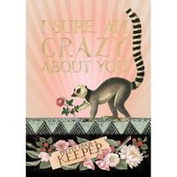 Meerkat Keeper Foil - Greeting Card