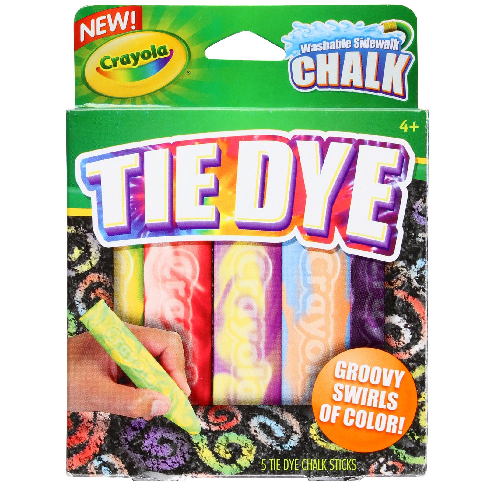 Crayola: Special Effects Sidewalk Chalk - Tie Dye image
