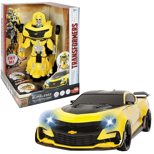 Transformers: The Last Knight - Robot Fighter Bumblebee