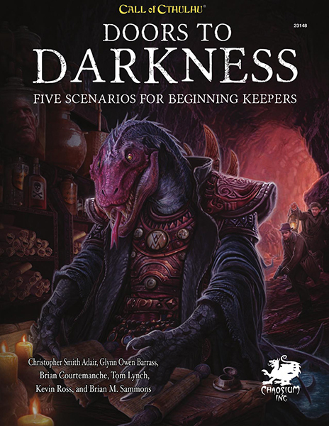 Call of Cthulhu: Doors to Darkness - Beginners Scenario Supplement by Brian M Sammons image