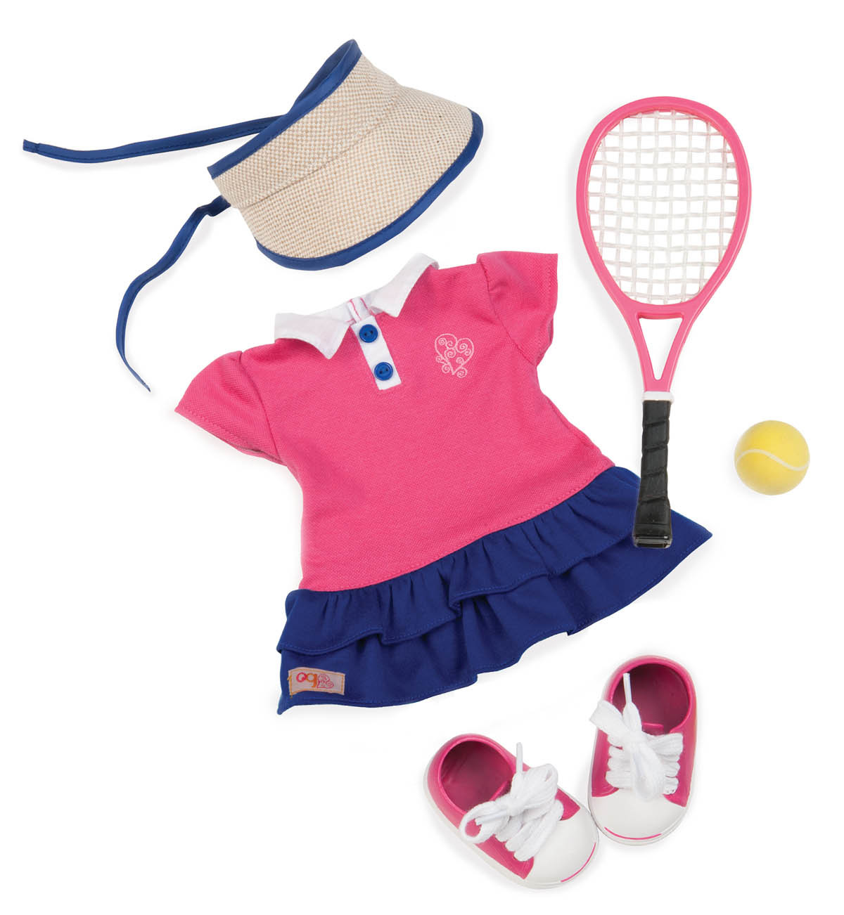 Our Generation: Regular Outfit - AceD It! Tennis Outfit image