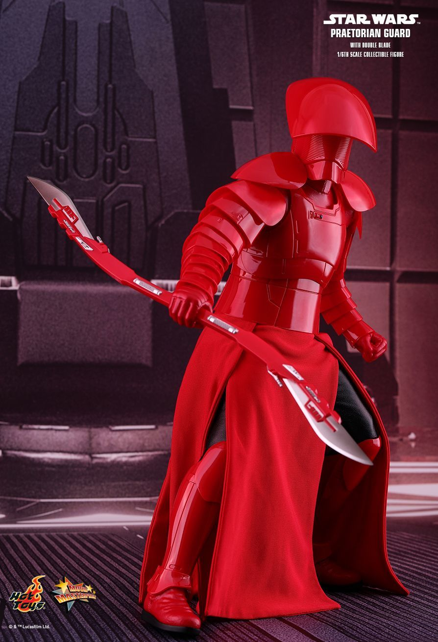 "Star Wars: The Last Jedi - Praetorian Guard (Dual Blades) - 12"" Articulated Figure image"