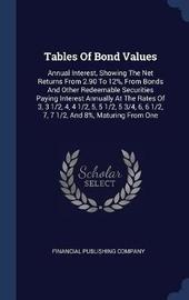 Tables of Bond Values by Financial Publishing Company image