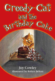 Greedy Cat and the Birthday Cake by Joy Cowley image