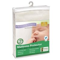 Protect-a-Bed: Bamboo Fitted Jersey Bassinet Mattress Protector