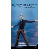 Ricky Martin - One Night Only on DVD image