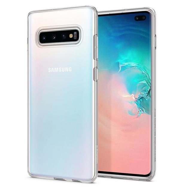 Spigen Galaxy S10+ Liquid Crystal Case - Crystal Clear
