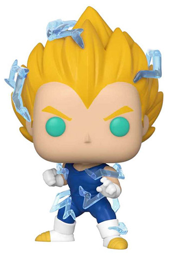 Dragon Ball Z – Vegeta (SS2) Pop! Vinyl Figure (with a chance for a Chase version!) image