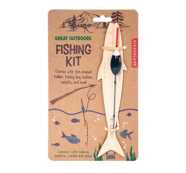 Kikkerland Huckleberry - Fishing Kit