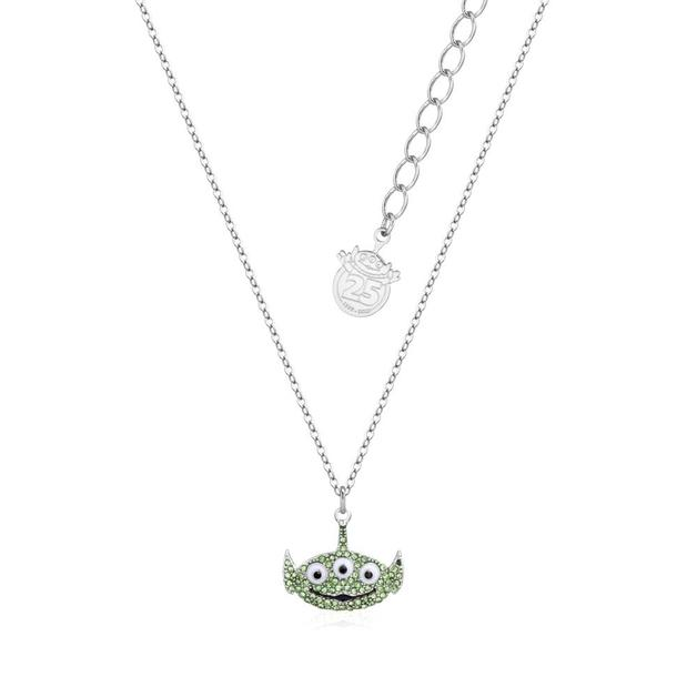 Couture Kingdom: Disney Pixar Toy Story Alien Crystal Necklace - Silver