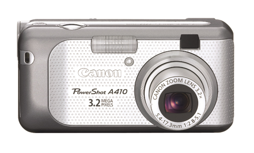 Canon Digital Camera Powershot 3.2MP A410 Silver image