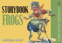 Storybook Frogs Postcard Book image