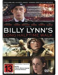 Billy Lynn's Long Halftime Walk on DVD