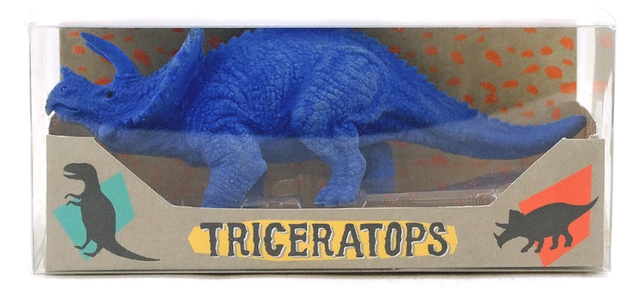 Ooly: Dinosaur Eraser - Triceratops