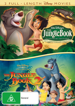 Jungle Book (1967) / Jungle Book 2 (2 Disc Set) on DVD