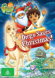 Go Diego Go!: Diego Saves Christmas! on DVD image
