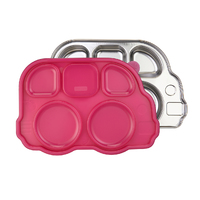 Innobaby: Aqua Heat Stainless Steel Container - Pink