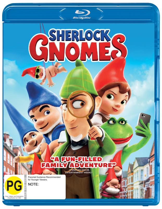 Sherlock Gnomes on Blu-ray