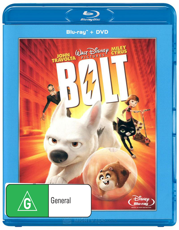 Bolt on Blu-ray