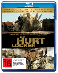 The Hurt Locker on Blu-ray