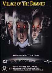 Village Of The Damned on DVD