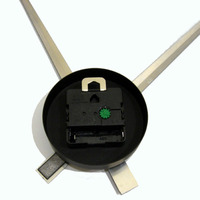 Karlsson Wall Clock: Little Big Time (Black) image