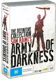 Army of Darkness - The Definitive Collection on DVD, Blu-ray