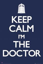 Doctor Who Keep Calm Wall Poster (174) image