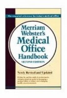 Merriam-Webster Medical Office Handbook by Delmar Cengage Learning