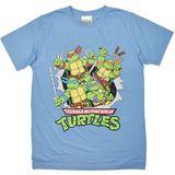 Teenage Mutant Ninja Turtle Retro T-Shirt (Large)
