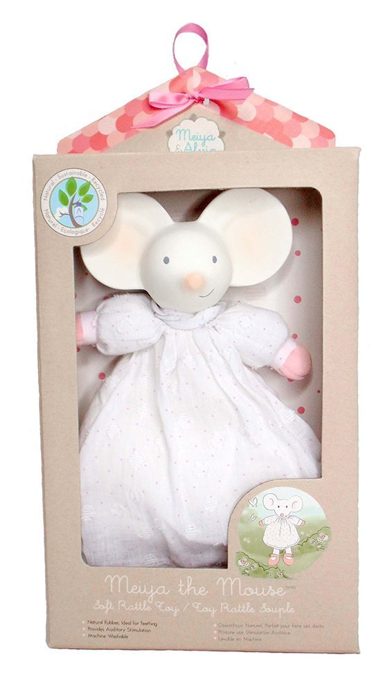 Meiya & Alvin: Meiya the Mouse - Soft Rattle image