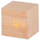 Time Cube with Red LED - Beech