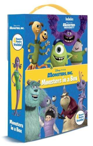 Monsters, Inc.: Monsters in a Box by Andrea Posner-Sanchez image