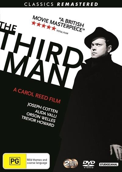 The Third Man (Remastered) on DVD image