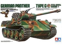 Tamiya 1/35 Panther Type G Steel Wheel - Model Kit image