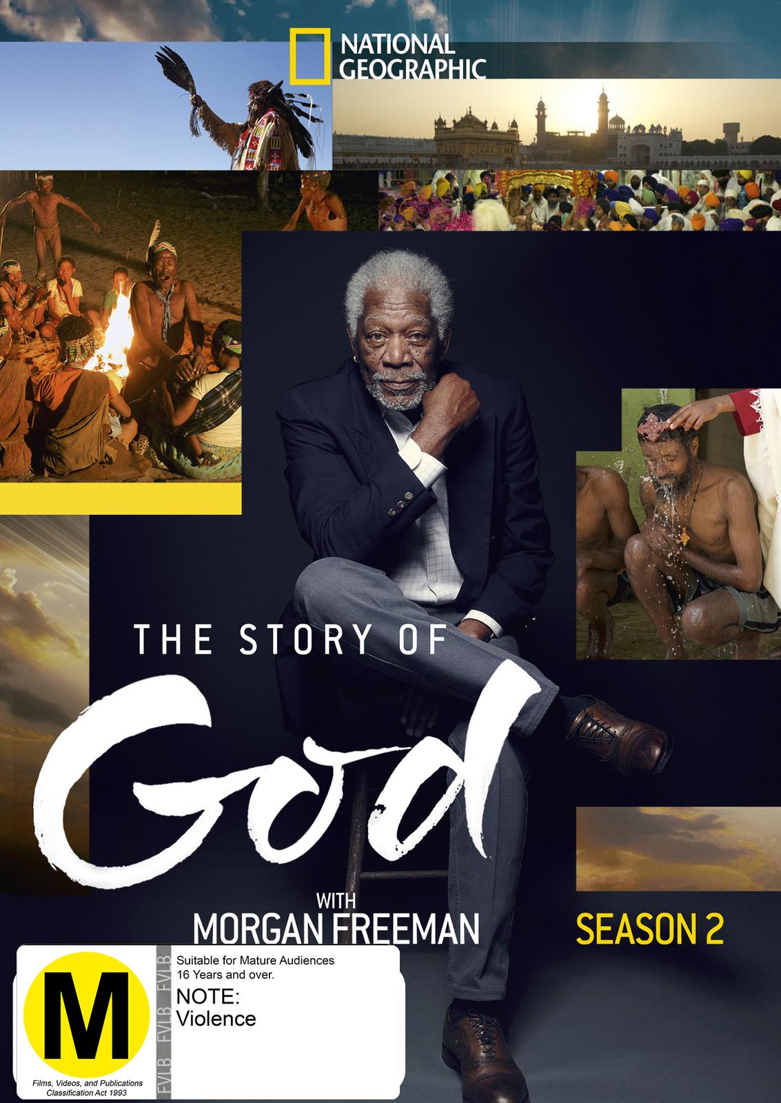 The Story Of God with Morgan Freeman - Season 2 on DVD image
