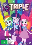 My Little Pony: Equestris Girls Triple Pack on DVD